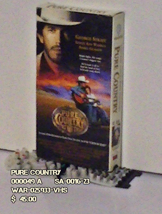 VHS - PURE COUNTRY