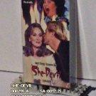 VHS - SHE-DEVIL