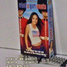 VHS - WHAT A GIRL WANTS