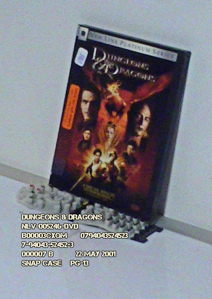 DVD - DUNGEONS & DRAGONS