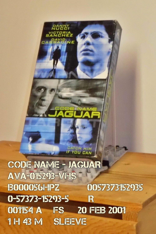 VHS - CODE NAME - JAGUAR