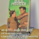 VHS - AB & CO - BUCK PRIVATES