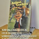 VHS - ANIMAL CRACKERS