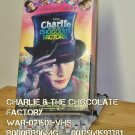 VHS - CHARLIE AND THE CHOCOLATE FACTORY  **