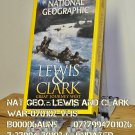VHS - NAT GEO - LEWIS & CLARK - GREAT JOURNEY WEST
