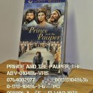 VHS - PRINCE AND THE PAUPER, THE