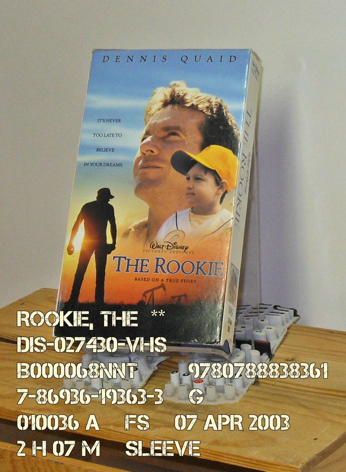 VHS - ROOKIE, THE  **