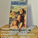 VHS - TARZAN - SECRET TREASURE