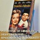 VHS - POCKETFUL OF MIRACLES