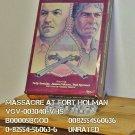 VHS - MASSACRE AT FORT HOLMAN
