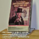 VHS - PAT GARRETT & BILLY THE KID