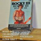 VHS - ROCKY  (03)