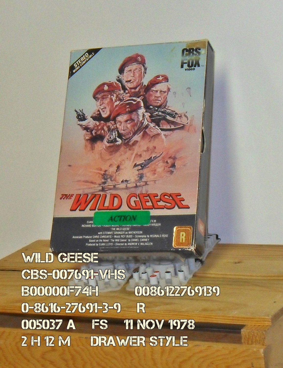 VHS - WILD GEESE