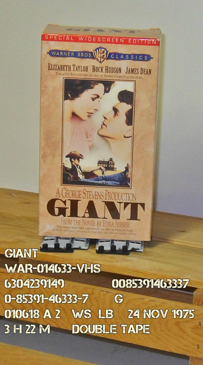 VHS - GIANT