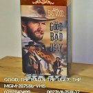 VHS - GOOD, THE BAD & THE UGLY, THE