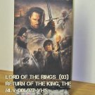 VHS - LORD OF THE RINGS, THE  (03)  RETURN OF THE KING