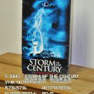 VHS - STEPHEN KING - STORM OF THE CENTURY