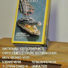 VHS - NAT GEO - CROCODILES: HERE BE DRAGONS