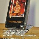 VHS - CONAN - DESTROYER, THE