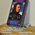 VHS - WAR LORD, THE