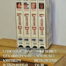 VHS - LONESOME DOVE  ( 4vhs )