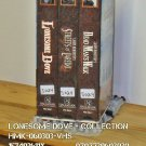 VHS - LONESOME DOVE - COLLECTION