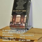 VHS - 12 ANGRY MEN  **