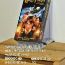 VHS - HARRY POTTY  (01)  AND THE SORCERER'S STONE