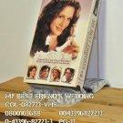 VHS - MY BEST FRIEND'S WEDDING