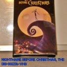 VHS - NIGHTMARE BEFORE CHRISTMAS