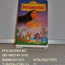VHS - POCAHONTAS