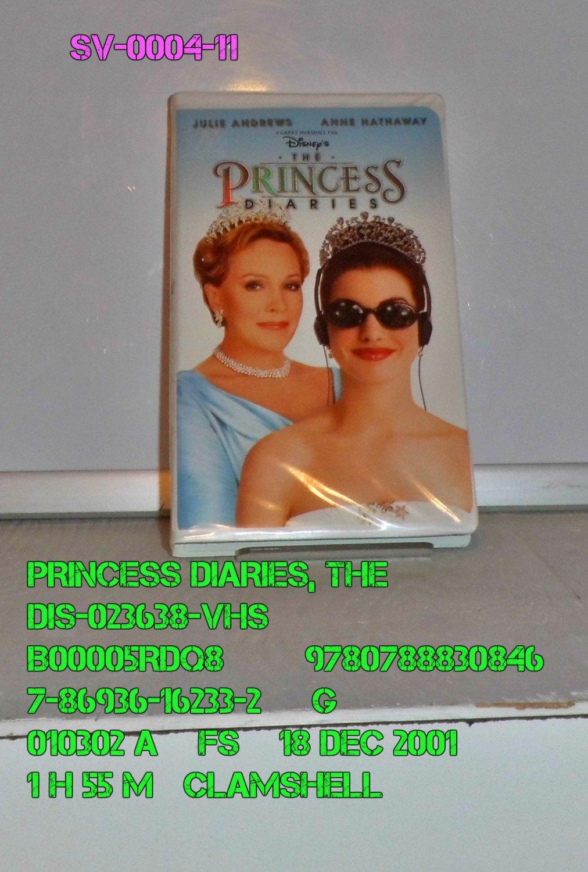VHS - PRINCESS DIARIES, THE