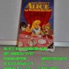 VHS - ALICE IN WONDERLAND