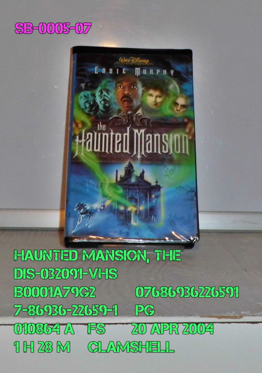 VHS - HAUNTED MANSION