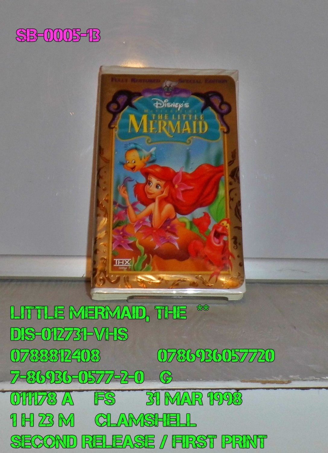 VHS - LITTLE MERMAID, THE  **