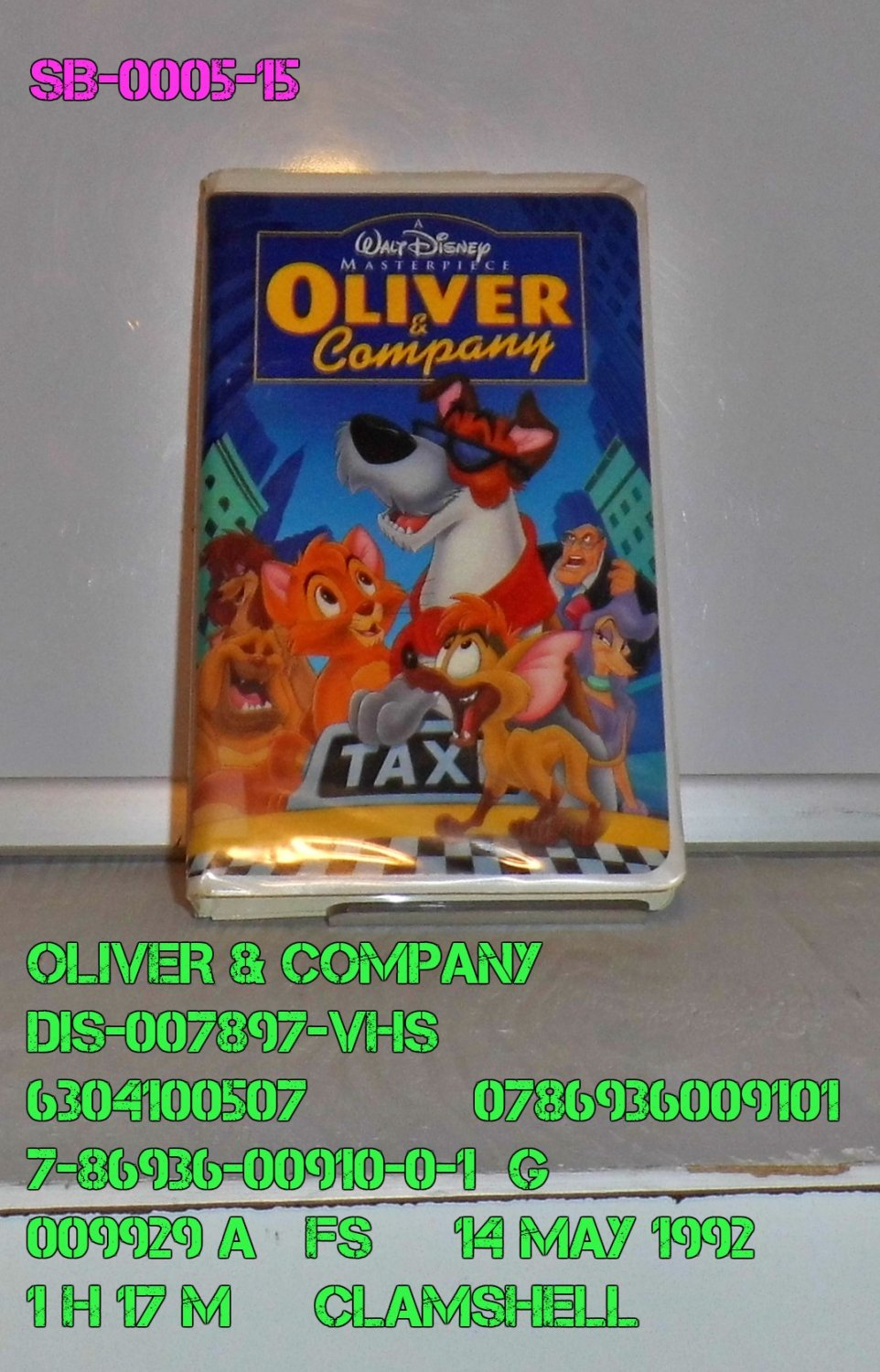 VHS - OLIVER & COMPANY