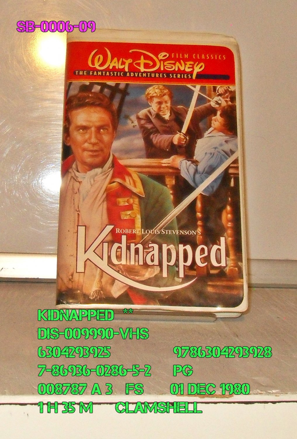 VHS - KIDNAPPED  *