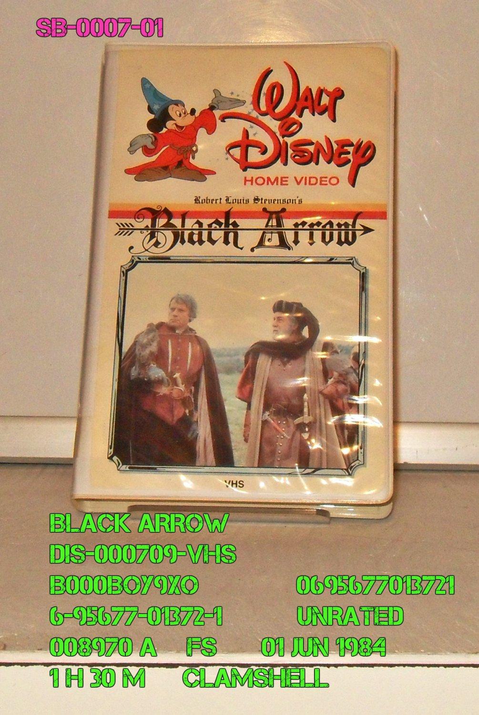 VHS - BLACK ARROW