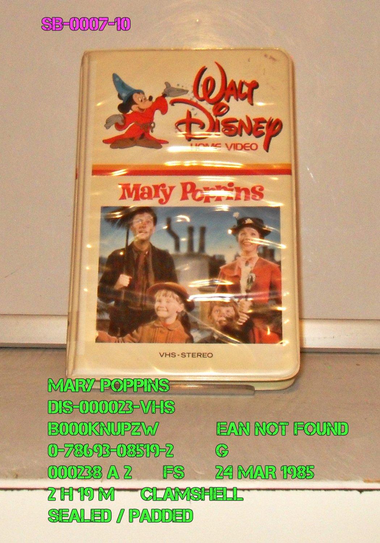 VHS - MARY POPPINS  *