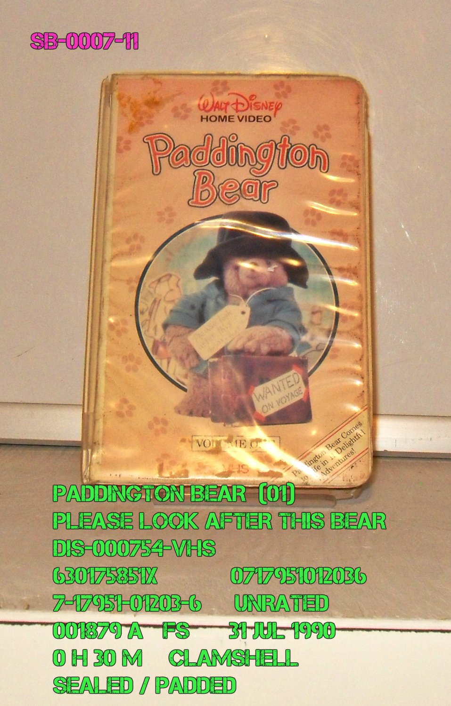 VHS - PADDINGTON BEAR  *