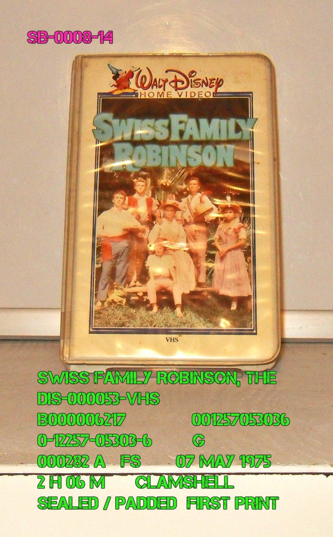 VHS - SWISS FAMILY ROBINSON