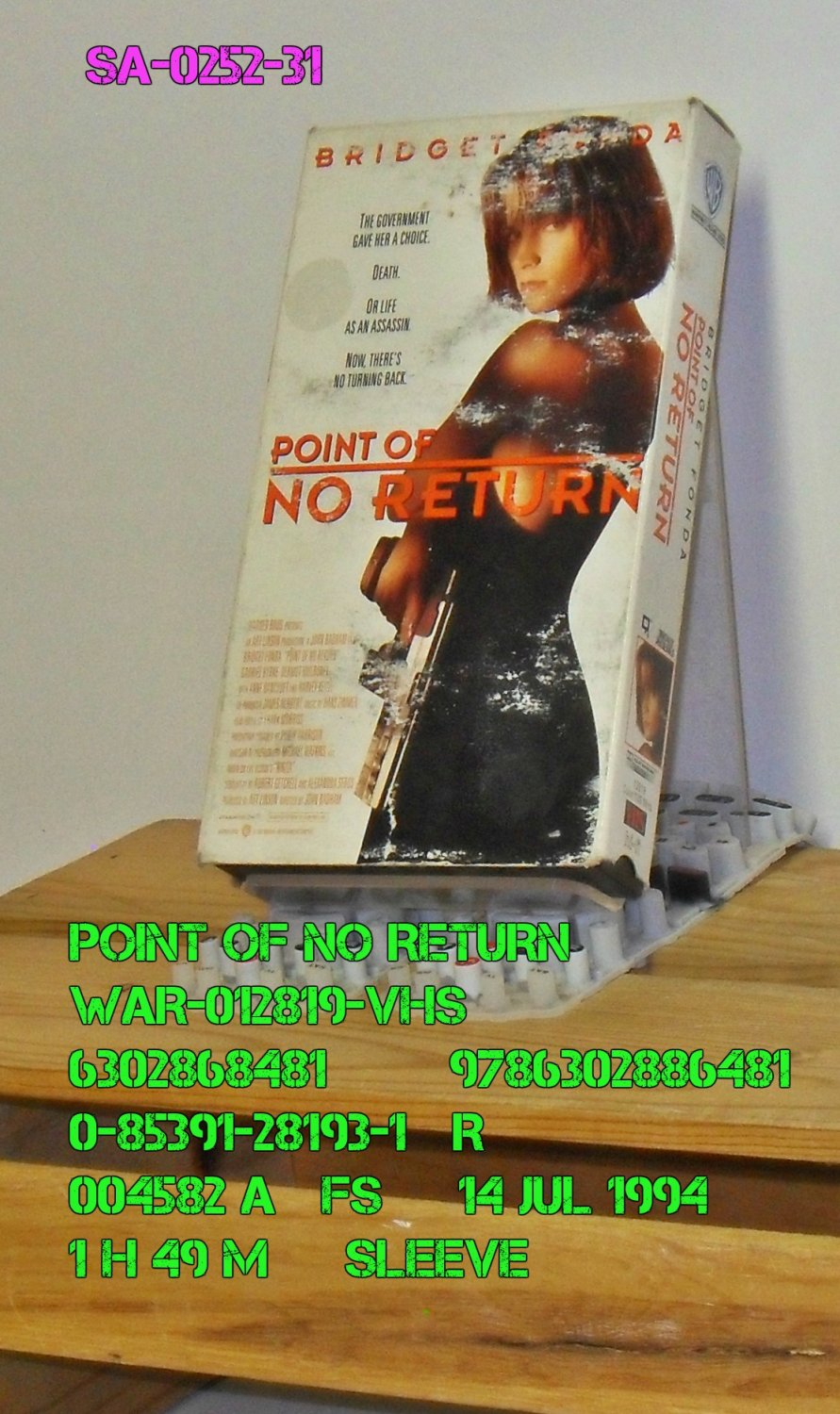 VHS - POINT OF NO RETURN