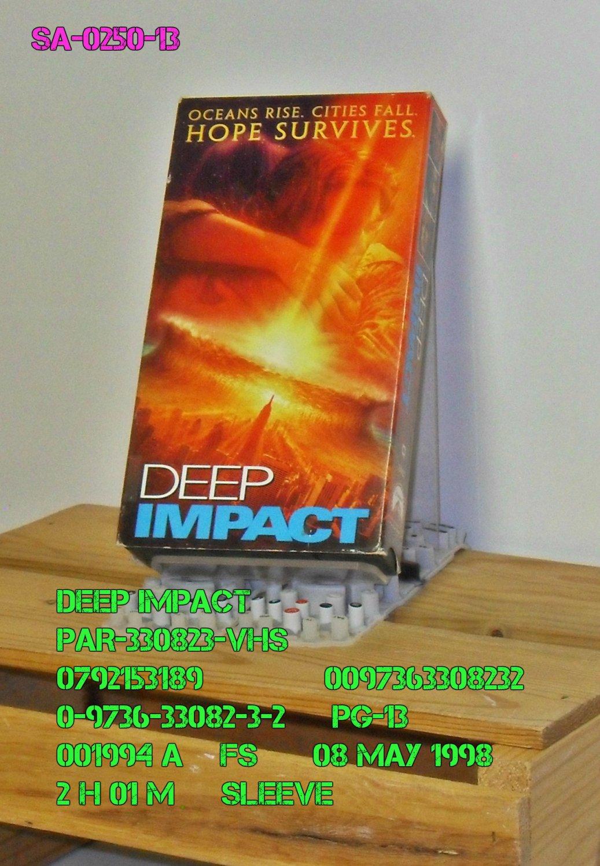 VHS - DEEP IMPACT