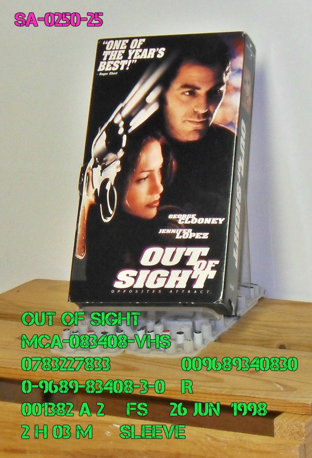 VHS - OUT OF SIGHT