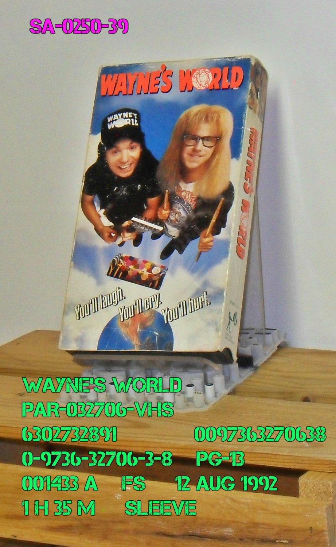 VHS - WAYNE'S WORLD