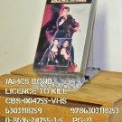 VHS - BOND - LICENSE TO KILL