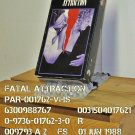 VHS - FATAL ATTRACTION