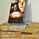 VHS - FINAL FANTASY - SPIRIT WITHIN