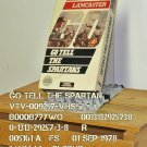 VHS - GO TELL THE SPARTANS
