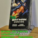 VHS - BATMAN  (03)  FOREVER